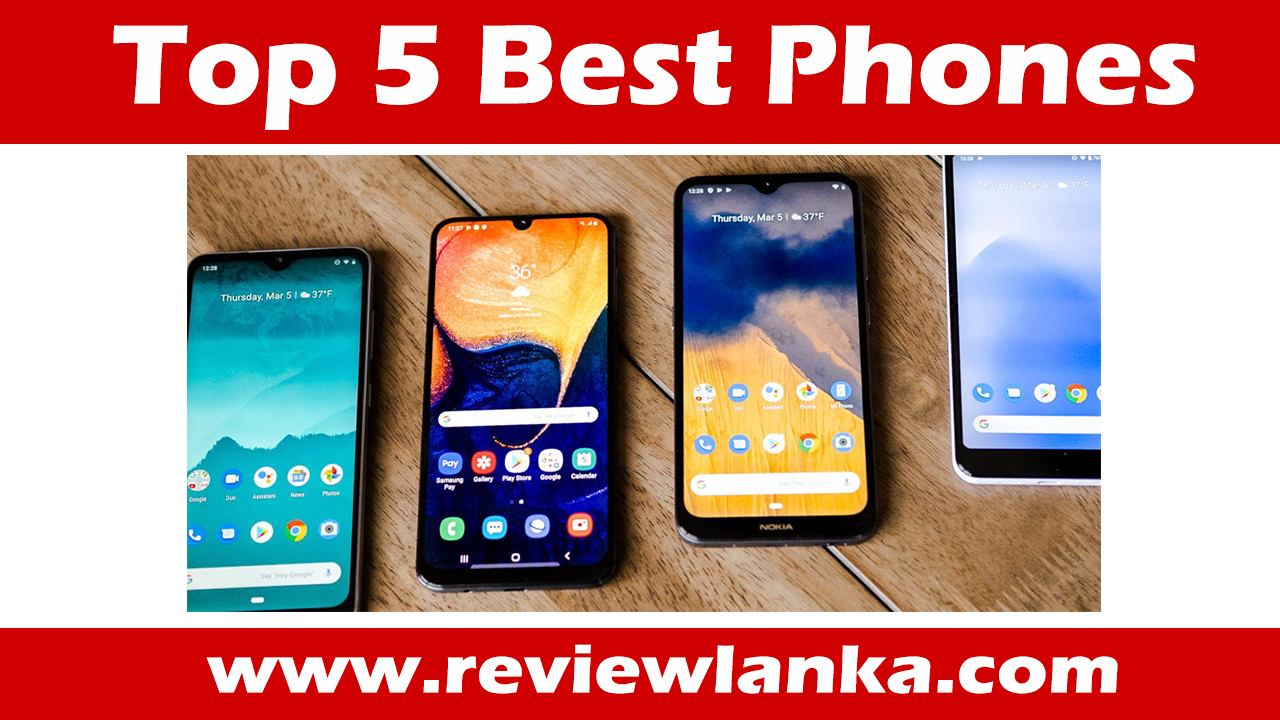 Top 5 Best Phones in the World 2020