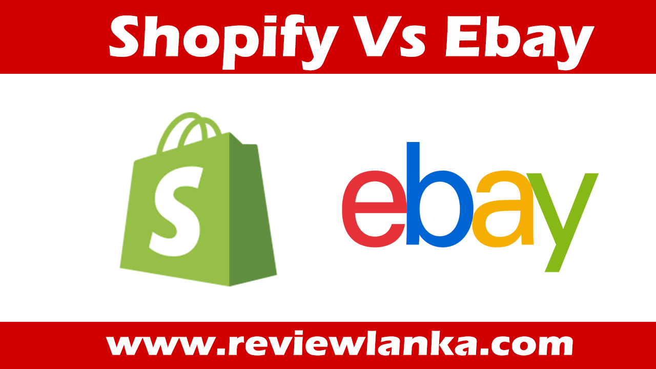 Is It Better to Sell on Shopify or eBay?